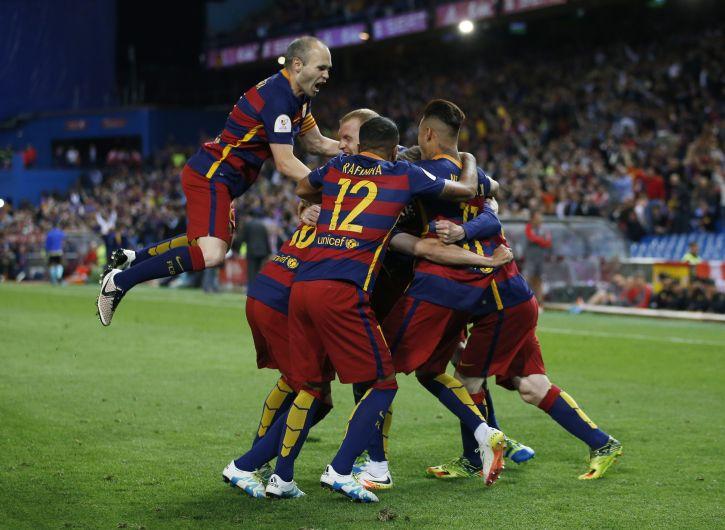 Barcelona venció 2-0 a Sevilla y es campeón de la Copa del Rey [Video]