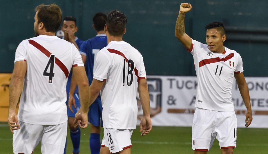 Perú derrotó 3-1 a El Salvador y llega con confianza a la Copa América Centenario