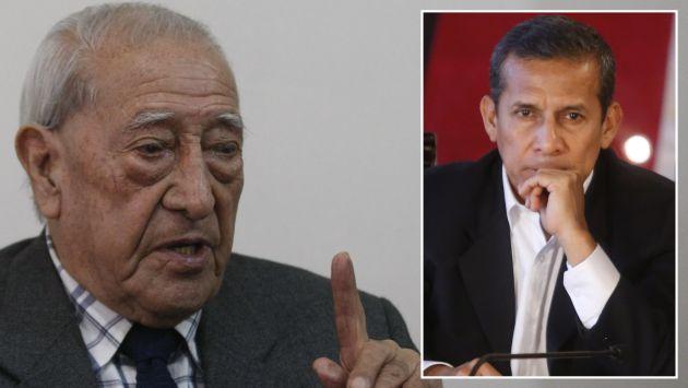 "Isaac Humala: ""El gobierno de Ollanta Humala fue un total fracaso"". (USI)"