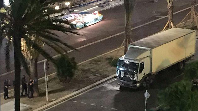atentado niza camion