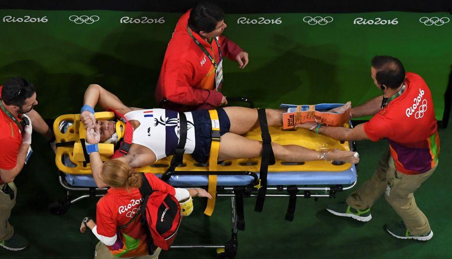 La aterradora lesión de un gimnasta francés en los Juegos Olímpicos [Video]