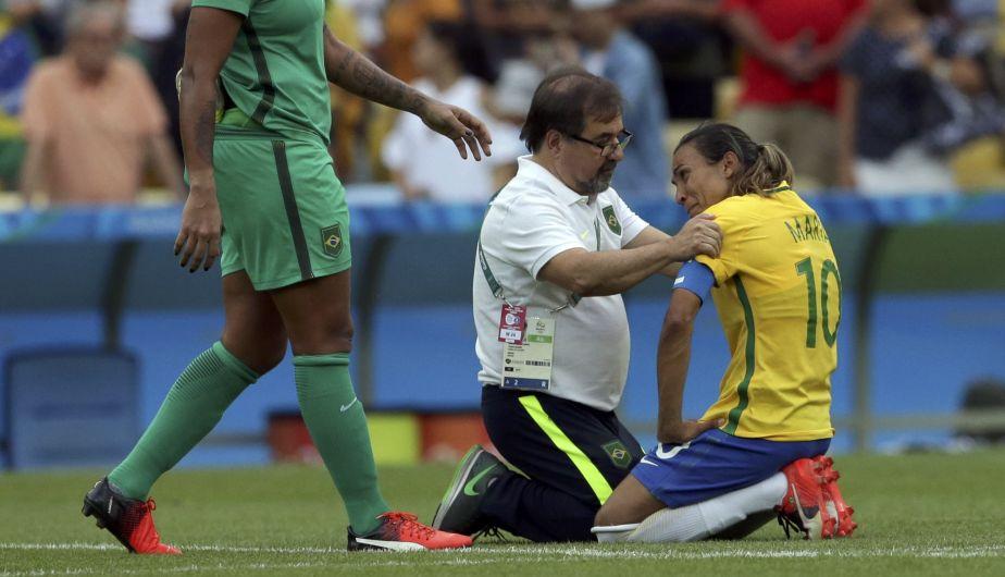 Brasil perdió en la semifinal de fútbol femenino y jugará por la medalla de bronce en Río 2016 [Fotos]