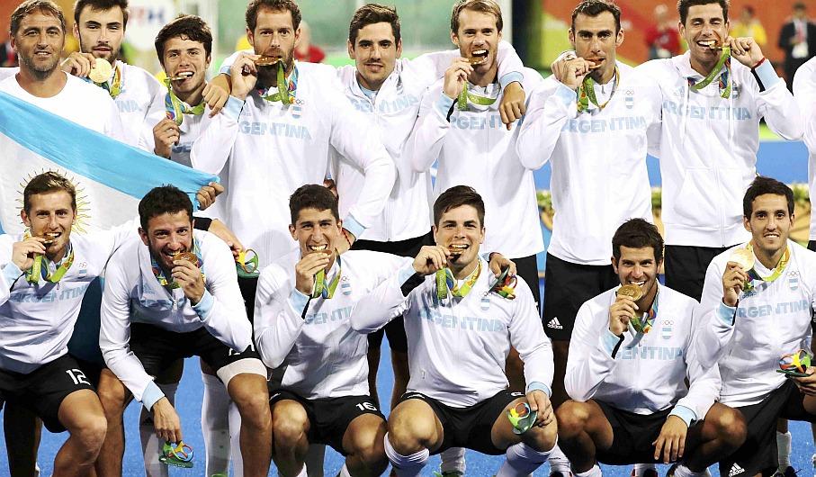 Río 2016: Argentina venció 4-2 a Bélgica y conquistó el oro en hockey masculino [Video]