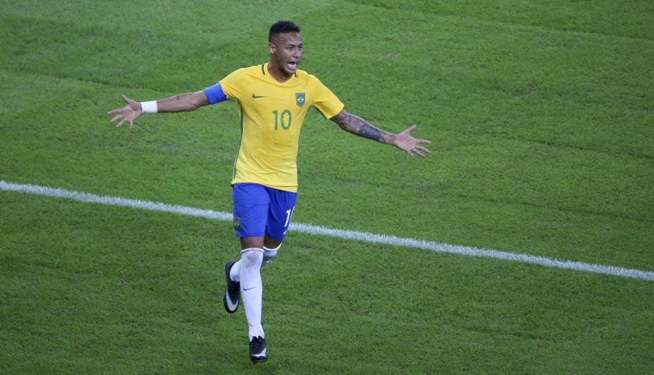 Brasil venció a Alemania en Río 2016 y ganó su primera medalla de oro en fútbol olímpico [Fotosy video]