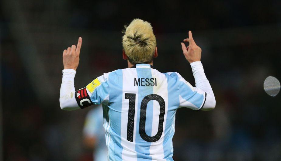 Lionel Messi le dio la victoria a Argentina sobre Uruguay en las Eliminatorias Rusia 2018