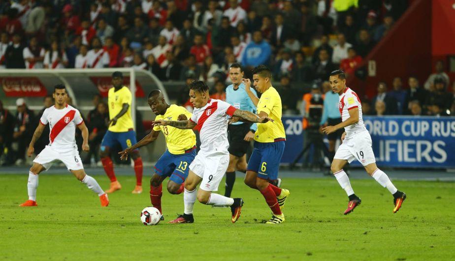 Perú venció 2-1 a Ecuador y sigue con vida en las Eliminatorias Rusia 2018 [Fotos]