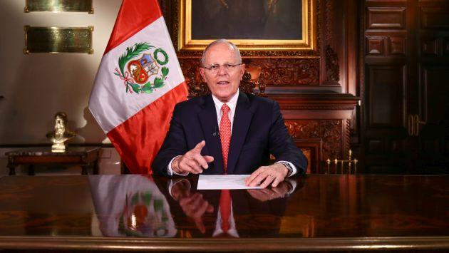 PPK reitera su buena voluntad para dialogar con todas las fuerzas políticas. (Flickr Presidencia Perú)