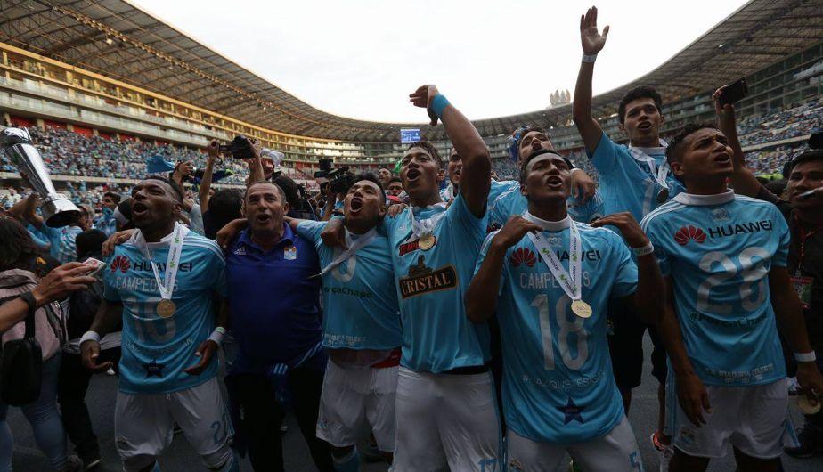 Sporting Cristal igualó 0-0 con Melgar y se proclamó campeón del Torneo Descentralizado 2016