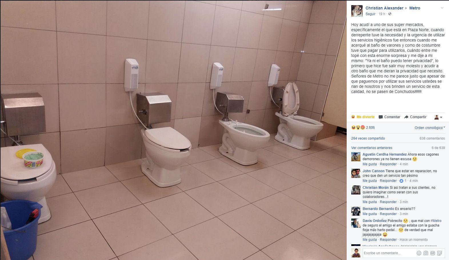 Baños Gay Porno la verdad sobre los baños del supermercado que se hicieron